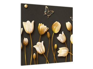 Obraz - Tulipány - abstraktné (V021347V5050)