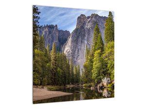 Kép - A Yosemite szikla alatt (V021691V5050)