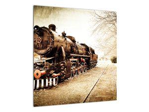 Slika - Povijesna lokomotiva (V021959V5050)