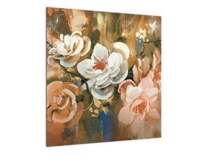 Obraz - Malovaná kytice květin (V022001V5050)