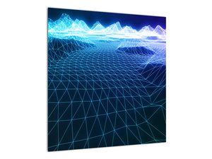 Slika - Planine u računalnom modelu (V022019V5050)