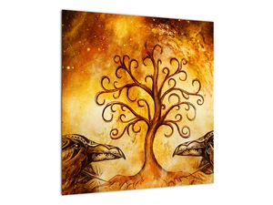 Naravna abstraktna slika drevesa (V022111V5050)