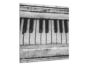 Egy régi zongora képe (V022562V5050)