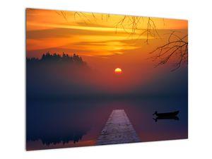 Híd képe naplementekor (V020012V7050)
