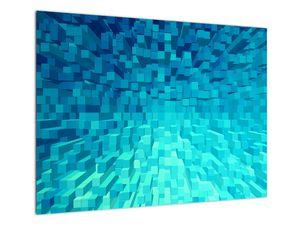 Obraz - abstraktní kostky (V020021V7050)