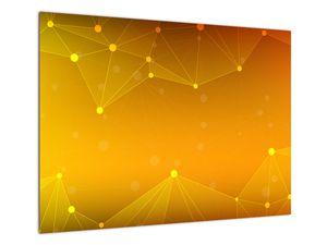 Abstraktní žlutý obraz (V020045V7050)