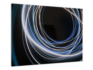 Tablou cu linii albastre (V020053V7050)