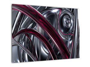 Tablou cu abstracție gri (V020094V7050)