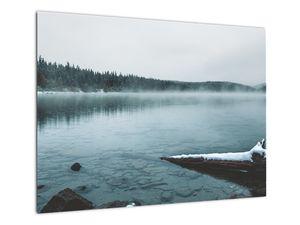 Tablou - lacul nordic înghețat (V020225V7050)