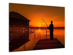 Tablou cu pescar (V020264V7050)
