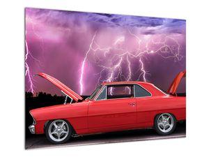 Slika crvenog automobila (V020409V7050)