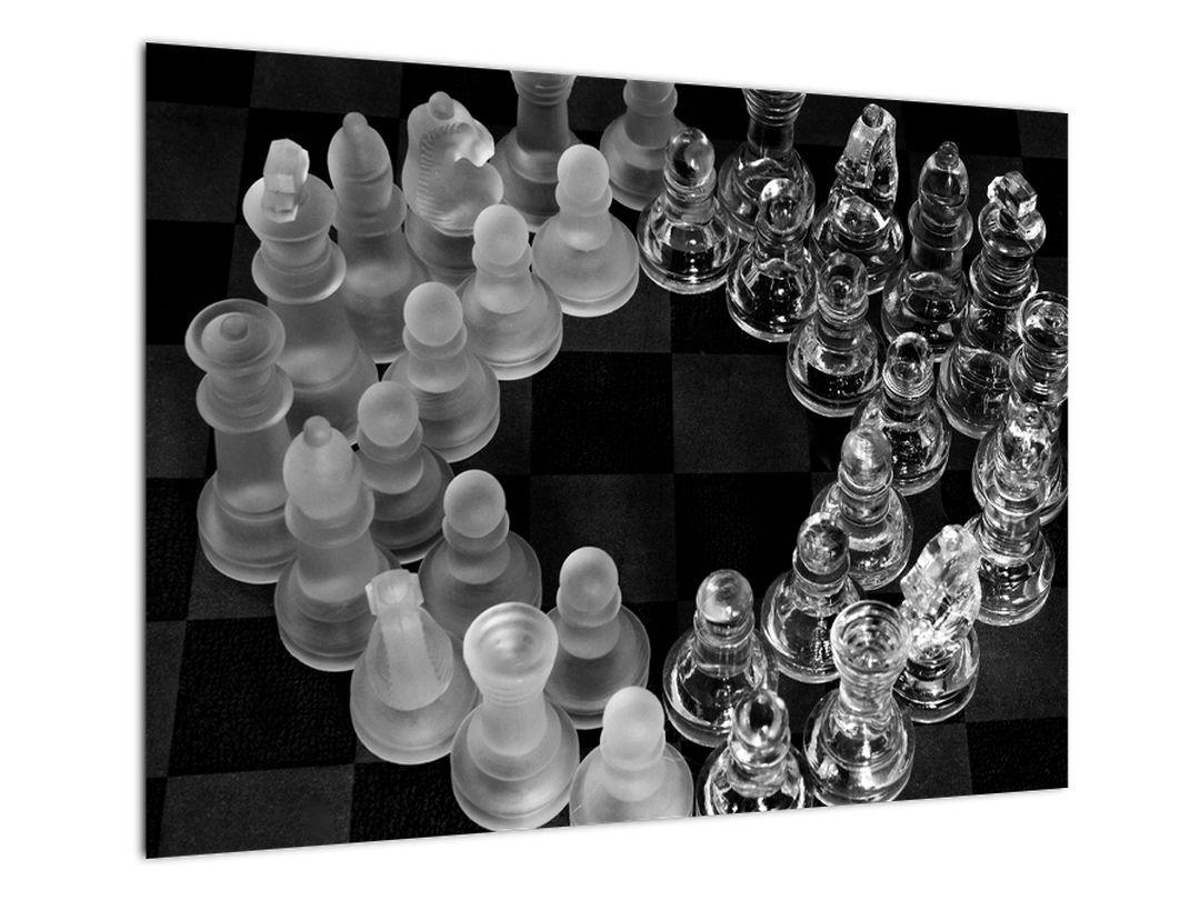 Obraz - černobílé šachy (V020598V7050)