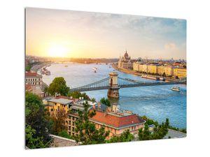 Obraz města Budapešť s řekou (V020712V7050)