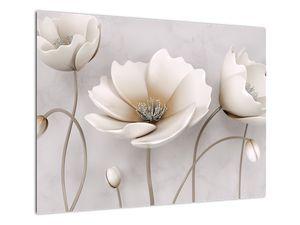 Obraz bílých květin (V020898V7050)