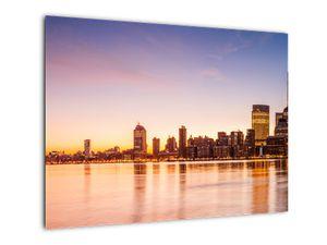 Obraz města při západu slunce (V020924V7050)