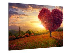 Obraz stromu v tvare srdca (V020949V7050)