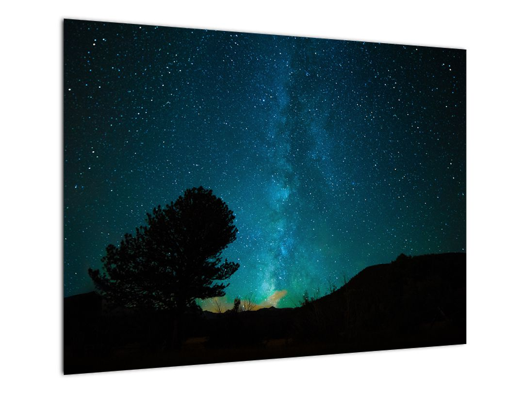 Obraz nočnej oblohy s hviezdami (V021100V7050)