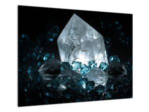 Schilderij - Kristal (V021107V7050)