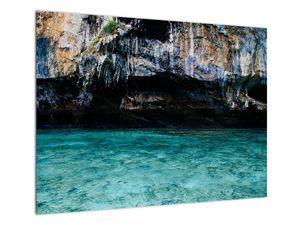 A víz és a sziklák képe (V021152V7050)