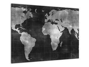 Obraz - Mapa světa (V021461V7050)