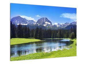 Obraz - Zasněžené vrcholky hor (V021908V7050)