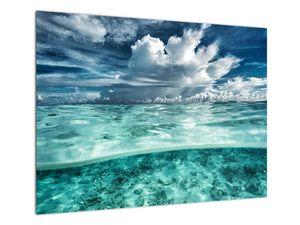Obraz - Pohled pod mořskou hladinu (V021921V7050)
