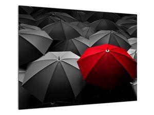 Obraz otevřených deštníků (V021940V7050)