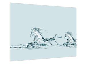 Obraz - Koně z kapek vody (V021946V7050)