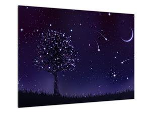 Obraz - Noc zachycená ilustrací (V021953V7050)