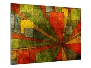 Obraz geometrické abstrakce (V021955V7050)