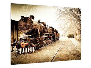 Slika - Povijesna lokomotiva (V021959V7050)
