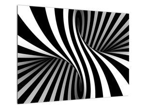 Absztrakt kép zebra csíkokkal (V021960V7050)