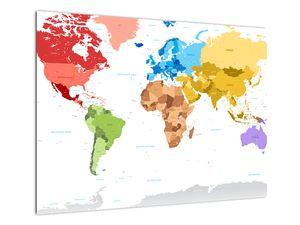 Obraz - Mapa světa (V021973V7050)