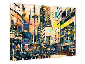 Obraz malované abstrakce (V021990V7050)