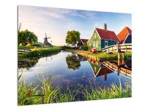 Obraz nizozemských mlýnů (V022026V7050)