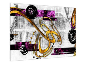 Obraz abstrakce (V022043V7050)