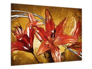 Obraz květů lilií (V022065V7050)