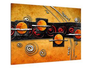Obraz abstrakce - Planety (V022067V7050)