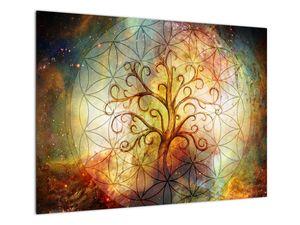 Abstraktní obraz stromu (V022110V7050)