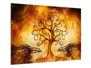 Naravna abstraktna slika drevesa (V022111V7050)
