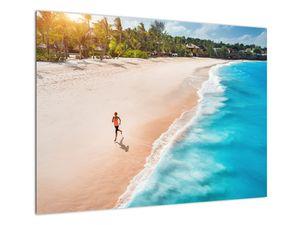 Obraz - Plážový běh (V022112V7050)