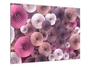 Abstraktní obraz květů růží (V022153V7050)