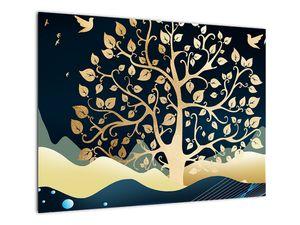 Slika zlatega drevesa (V022286V7050)