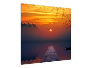 Híd képe naplementekor (V020012V7070)