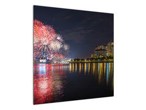 Tablou cu artificii in Singapur (V020035V7070)