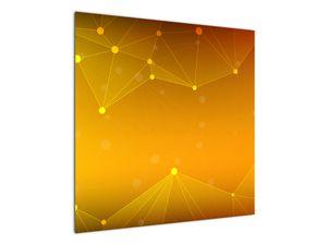 Abstraktní žlutý obraz (V020045V7070)