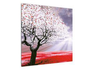 Červený obraz stromu (V020052V7070)