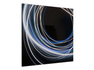 Tablou cu linii albastre (V020053V7070)