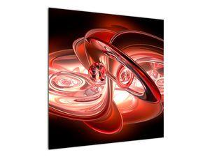Obraz - červené tvary (V020064V7070)