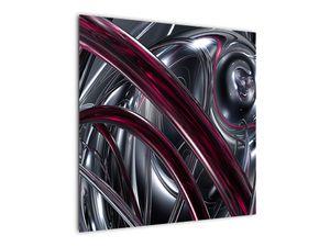 Tablou cu abstracție gri (V020094V7070)